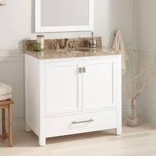 classic style bathroom vanity signature hardware painted vanities retro bathroom vanity small cabinets