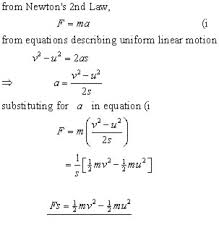 Work Energy Mechanics From A Level Physics Tutor