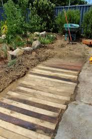 crumbs wooden pallet walkway footpath pallet craft