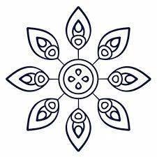 Simple Mandala Patterns