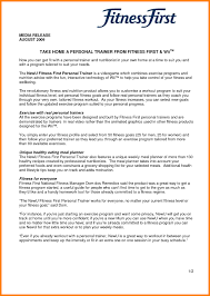Personal Trainer Cover Letter Template No Experience Sample Pdf