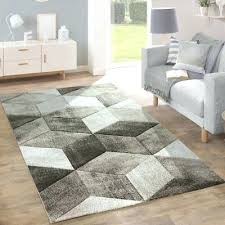 large grey rug geometric grey rug thick living room short pile carpet mat small extra large