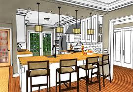 interior design sketches kitchen. Interior Design Sketch Software Chief Architect For Professional Designers Sketches Kitchen