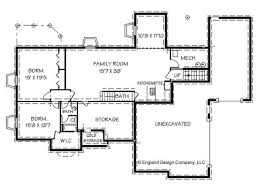 lovely ranch house floor plans with basement