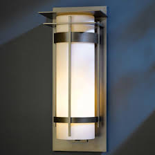 hubbardton forge 305995 banded led exterior wall lighting fixture loading zoom