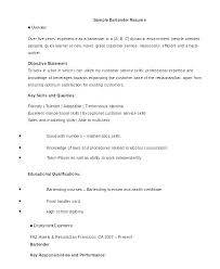 what should a good resume look like resume bartender example of resumes sample australia creer pro