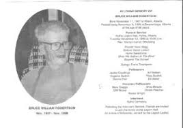 Bruce William Robertson (1907-1996) | WikiTree FREE Family Tree