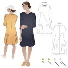 Knit Dress Pattern Impressive Talulah Knit Dress Style Arc