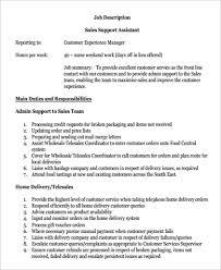 Duties Of Sales Assistant Custom Paper Sample Followthesalary Com