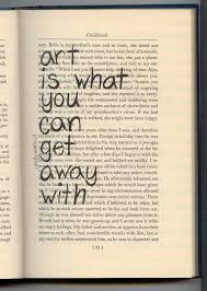 Life Quotes Books Gorgeous Altered Book fill a book with quotes about artreadinglife