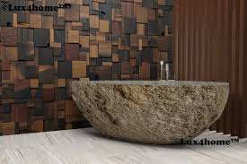 soaking baths made of natural stone have become more and more popular within recent years this is mostly due to natural beauty and uniqueness of each