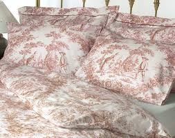 cool country style bedding with cranberry and white toile bedspread with brilliant french style bedding sets