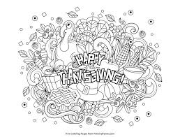 Thanksgiving Coloring Pages Free Download | lowqui.com : Find here ...