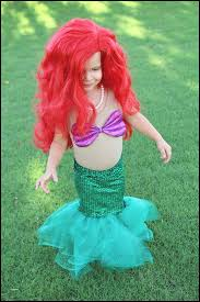 little mermaid costume diy costumes