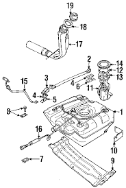 parts com® land rover discovery fuel system components oem parts diagrams 1999 land rover discovery sd v8 4 0 liter gas fuel system components