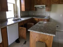 photo taken during one of our granite countertop installations in spring tx