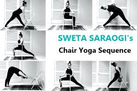 office chair yoga routine chair yoga is accessible to many anywhere they are shares her chair office chair yoga