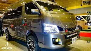 2018 nissan urvan. brilliant urvan 4knissan nv350 caravan urvan modified  osaka auto messe 2017 in 2018 nissan urvan