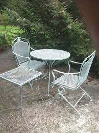 patio furniture rehab elegant how to spray paint metal outdoor furniture to last a long time