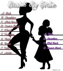 Braid Length Chart Schedule Appointment With