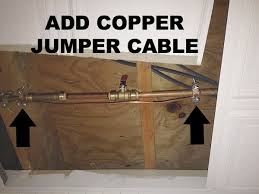 Copper jumper cable