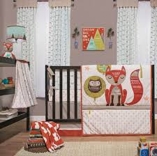 image is loading clever fox forest friend owl neutral crib baby