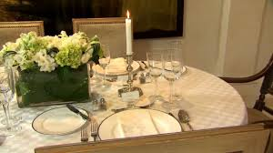 formal dining table setting. Formal Dining Table Setting I