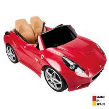 Feber Ferrari California 12 Volt Akülü Araba FEBER-800006330