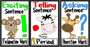 Punctuation Anchor Chart 1st Grade Free Kindergarten Punctuation Cliparts Download Free Clip