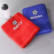 kids football towel