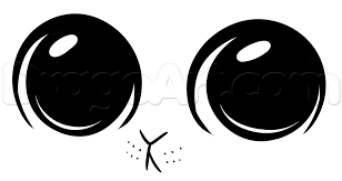 how to draw cute eyes step 4