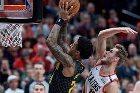 Hawks allow Blazers to separate down ...