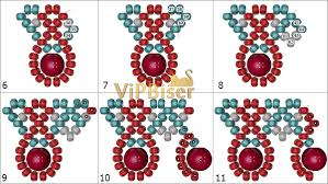 Beaded Necklace Patterns Beauteous Simple Beaded Necklace 48D Tutorial