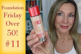 foundation friday for over 50