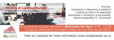 teaching recruitment open morning city leicester college teaching recruitment open morning