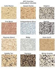 Epoxy Garage Floor Color Chart Epoxy Floors Color Chart In 2019 Garage Floor Epoxy