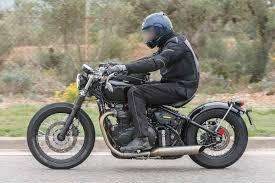 motorcyclistonline spied 2017 triumph bonneville bobber