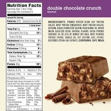 premier protein other fuel energy bar double chocolate crunch 30g