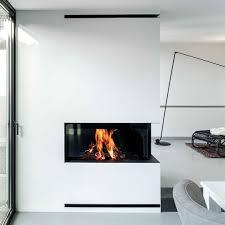 wood burning fireplace contemporary open hearth corner luna 1100cr diamond