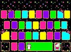 keyboard theme wallpaper o kitty wallpaper puter keyboard lady ann mickey mouse