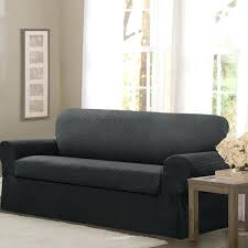 2 piece sofa slipcover stretch fabric 2 piece sofa slipcover serta stretch grid slipcover sofa 2