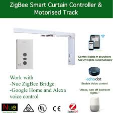 google home and office. AU/NZ Smart ZigBee Automatic Motorized Curtain Track For Google Home Automation | EBay And Office E