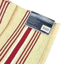 washable cotton rugs washable cotton rugs superb cotton throw rugs washable c f enterprises french red stripe