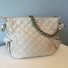 Marc Jacobs Chain Strap Cream Quilted Leather Shoulder Bag - Tradesy &  Adamdwight.com