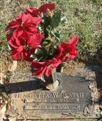 Henrietta Watson Ratliff (1915-1993) - Find A Grave Memorial