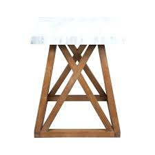 side tables timber side table haven solid oak square with marble top only picture of