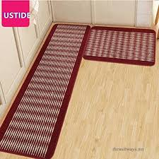 ustide kitchen rug set kitchen floor rug washable floor runner stripe pattern floor runner rugs nonskid