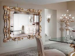 Mirrors For Dining Room Walls Add Decorative Mirrors For Creating Illusion Of Space