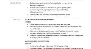 Veterinary Technician Job Description 40 Full Size Of Resumevet