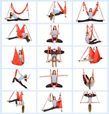 Aerial Yoga Swing Anti Gravity Yoga Swing With Daisy Chain